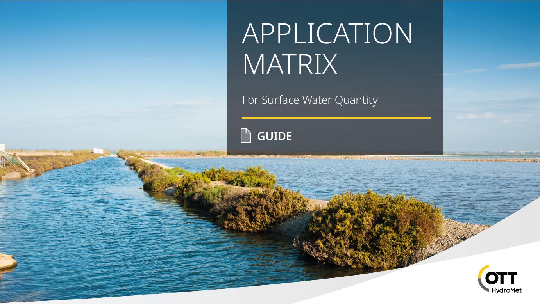 Οδηγός για αποτελεσματική παρακολούθηση ποσοτικών παραμέτρων επιφανειακών υδάτων